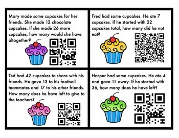 Cupcakes and QR Codes