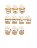Cupcakes contraction file folder game