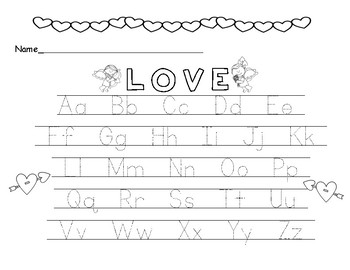 ABC Letter Game-Cupid Love