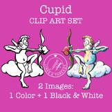 Cupid Clip Art Set