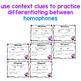 Cupid Clues- (using context clues & homophones)
