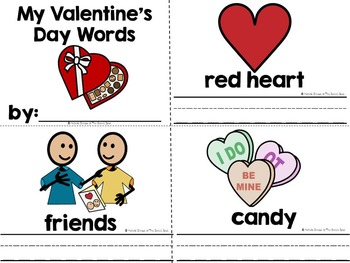 Cupid, Cupid, What Do You See?- Adapted Valentine's Day Book--Autism, Special Ed