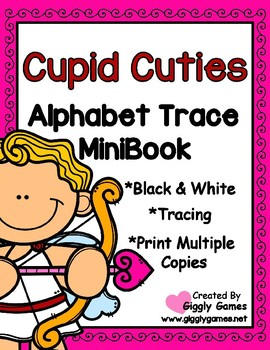 Cupid Cuties Trace and Write Mini Book