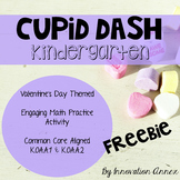 Cupid Dash Valentine's Day Math Practice