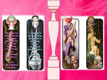 Cupid Eros & Psyche Mythology Bookmarks