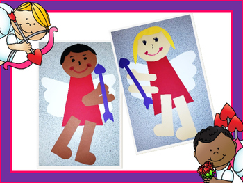 Cupid Kids {A Cupid Craftivity and Writing Printables for Valentine's Day}