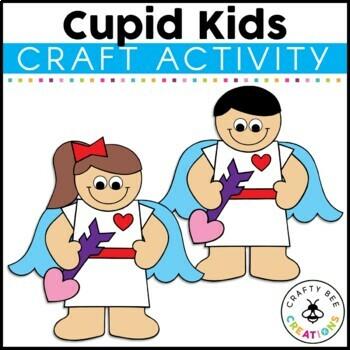Valentines Day Craft {Cupid Kids}