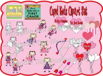 Cupid Kids Graphic Set