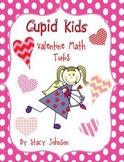 Cupid Kids Valentine Math Tubs