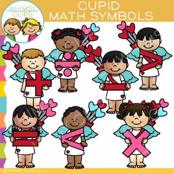 Cupid Math Symbols Clip Art