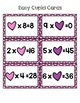 Cupid Missing Factor Bingo Game for Multiplication