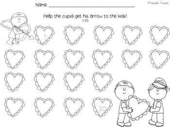 Cupid Number Writing to 40