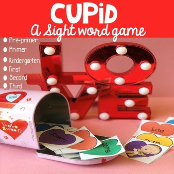 Cupid Sight Word Game