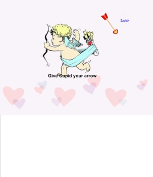 Cupid Smart Board Attendance - Valentine's Day