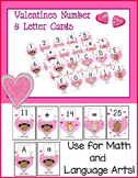 Cupid - Valentine Numbers and Letter Flash Cards