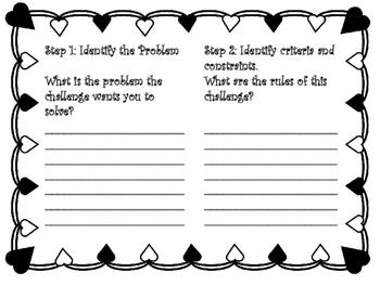 Cupid's Arrow Valentine's Day STEM challenge
