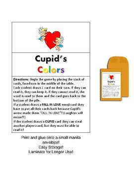 FREE Cupid's Colors
