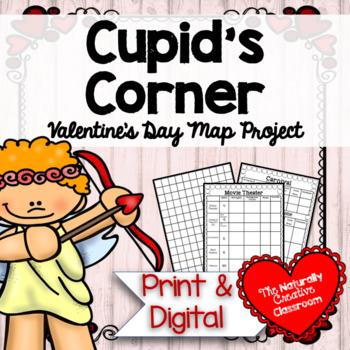Cupid's Corner:  Valentine's Area and Perimeter Map Project