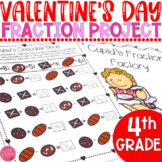 Valentine's Day Math Fractions: 4th Grade Project