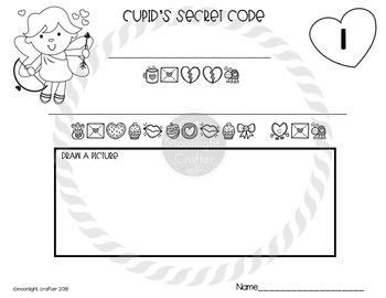 Cupid's Secret Message FREEBIE