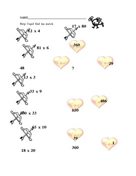 Cupid's Arrow Multiplication