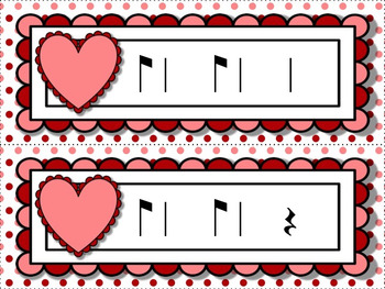 Cupid's Arrow Rhythm Games for Practicing multiple rhythms: BUNDLED SET