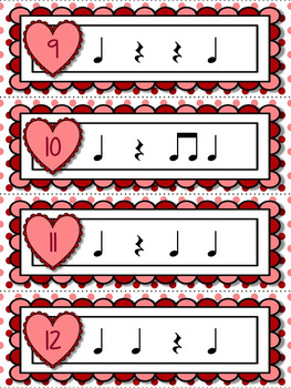 Cupid's Arrow Rhythm Games for Practicing quarter rest