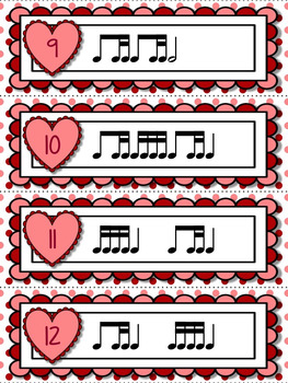 Cupid's Arrow Rhythm Games for Practicing ti-tika or ti-tiri