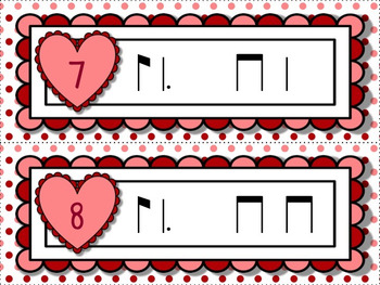 Cupid's Arrow Rhythm Games for Practicing ti-tom or ti-tam