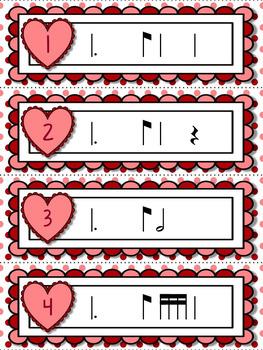 Cupid's Arrow Rhythm Games for Practicing tom-ti or tam-ti
