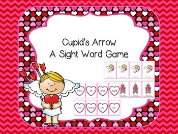 Cupid's Arrow - A Sight Word Game  (Fry Words)