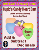 Valentine's Math Skills & Learning Center (Add & Subtract Decimals)
