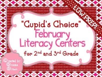 Valentine's Literacy Centers