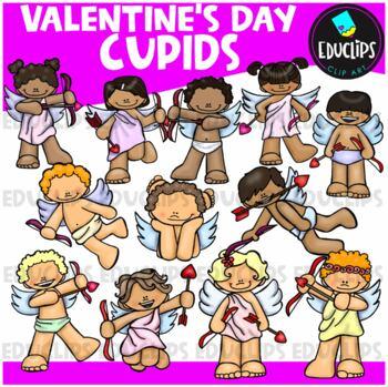 Cupids Clip Art Bundle {Educlips Clipart}