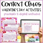 Valentine's Day Context Clues