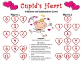 Cupid's Heart - A Valentine's Day Addition and Subtraction Game