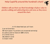 Cupid's Hundred Chart Challenge
