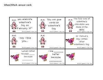 Cupid's Questions