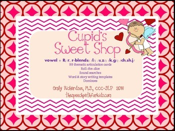 Cupid's Sweet Shop: Articulation