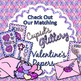 Be My Valentine Clip Art {Cupid Post Office Delivery Graphics for Worksheets}
