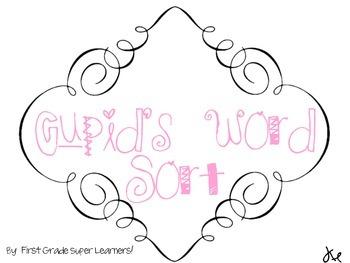 Cupid's Word Sort