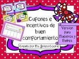 Behavior Reward Cupons Spanish Cards cupones incentivos de