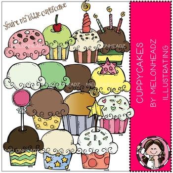 Melonheadz: Cuppycakes clip art - COMBO PACK