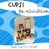 #Oct2019halfoffspeech Cups! for Articulation