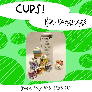 Cups! for Language