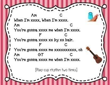 Cups: Rhythm Fun, Listening, & Ukulele/Cup/Singing