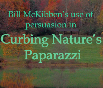 Curbing Nature's Paparazzi- persuasion and rhetoric - non-fiction