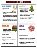 Curiosidades de la historia {History of the Holidays - ENL VERSION!}