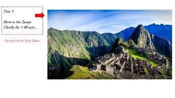 Curiosity Labs for Inquiry Learning: Machu Picchu 2.0