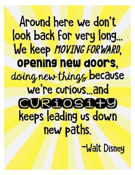 Curiosity Poster-FREEBIE